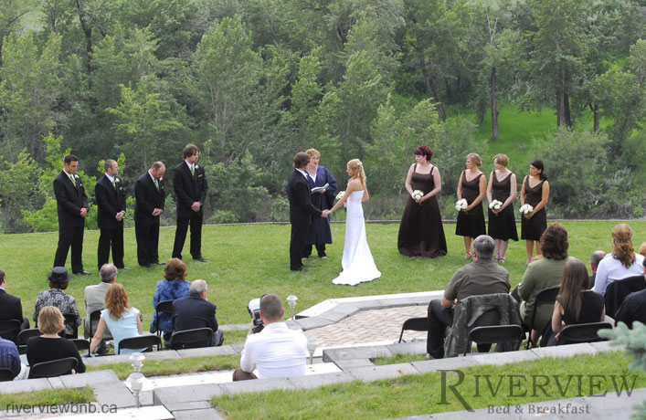 summer wedding venue near okotoks calgary